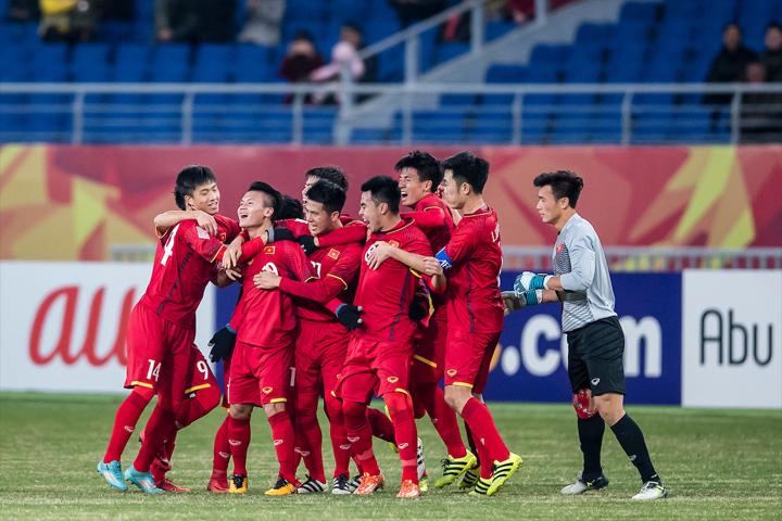 Olympic Việt Nam - với nòng cốt là những cầu thủ U23 - lại được chờ đợi làm nên kỳ tích khi tham dự Asiad 2018. Ảnh: FS.