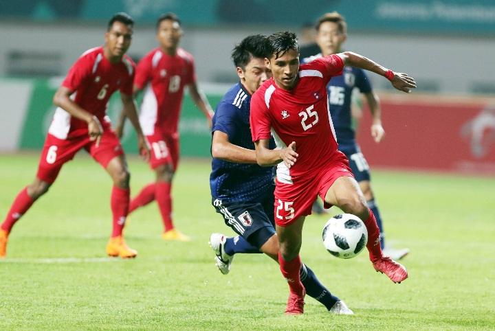 Theo HLV Park Hang-seo, Nepal không có thể hình tốt nhưng bù lại có sức bền và thể lực đáng nể. Ảnh: Đức Đồng.