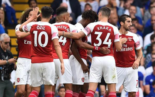 Arsenal tưởng như đã có được một màn lội ngược dòng thần kỳ.