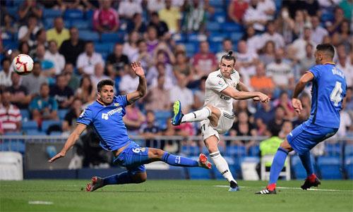 Bale là mũi nhọn nguy hiểm nhất của Real. Ảnh: Reuters
