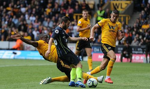 Wolves đã có trận đấu quả cảm trước Man City. Ảnh:DM.
