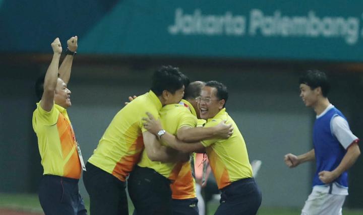 Lịch sử một lần nữa gọi tên HLV Park Hang-seo và các học trò sau chức á quân giải U23 châu Á. Ảnh:Đức Đồng.