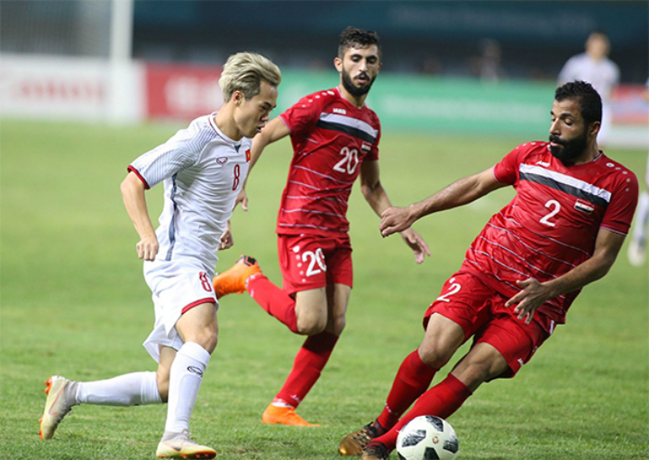 Việt Nam toàn thắng các đối thủ Tây Á ở vòng loại trực tiếp giải U23 châu Á và Asiad 2018. Ảnh:Lâm Thỏa.