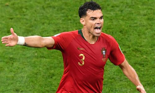 Pepe vẫn rất giá trị với tuyển Bồ Đào Nha. Ảnh: Reuters