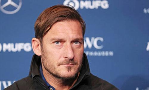 Totti tỏ ra thực tế khi nói về Serie A. Ảnh: Gazzetta