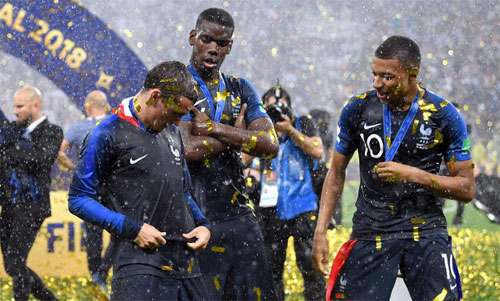 Pháp không có cầu thủ nào lọt vào Top 3 giải The Best của FIFA. Ảnh: Reuters