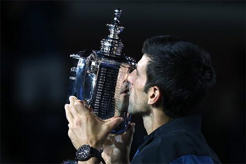 Mỹ Mở rộng năm nay lập kỷ lục về tiền thưởng, và với chức vô địch đơn nam, Djokovic nhận về 3.864.000 đôla tiền thưởng. Ảnh: Sky.