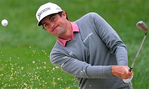Bradley chuẩn bị tinh thần về nhì sau hố 18 thảm họa, nhưng bất ngờ có cơ hội đấu play-off và đăng quang. Ảnh: Golf.com.