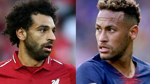 Salah vs Neymar: Đối đầu qua những con số