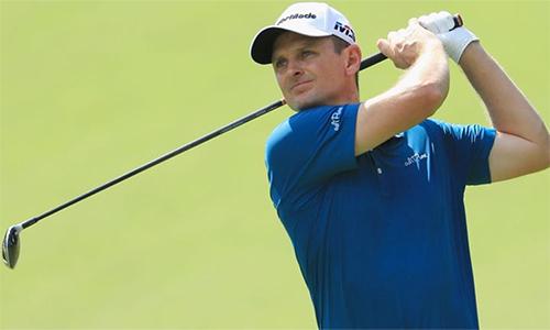 Khán giả có thể chứng kiến hai nhà vô địch trong ngày Chủ nhật, nếu Woods đăng quang tại Tour Championship còn Justin Rose (ảnh) thắng FedEx Cup. Ảnh: Sky.