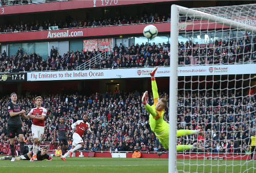 Arsenal thắng trận thứ tư liên tiếp ở Ngoại hạng Anh, sau khi thua Man City và Chelsea hai vòng đầu. Ảnh: Offside.