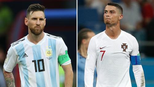 Messi và Ronaldo đều không tới dự lễ gala trao giải The Best dù thay nhau thống trị trong thập niên qua. Ảnh: FIFA.