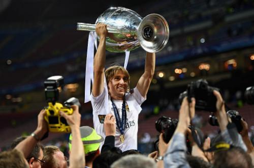 Modric giành bốn chức vô địch Champions League trong năm mùa gần nhất cùng Real.