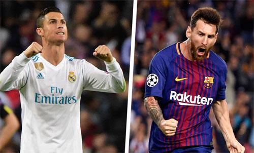 Messi chủ động phá vỡ sự kình địch vô hình giữa hai danh thủ.