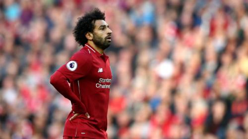 Salah vắng mặt trong Đội hình của năm là bất ngờ lớn nhưng anh đoạt giải Bàn thắng của năm cũng bất ngờ không kém. Ảnh: AFP.