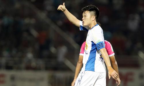 Xuân Trường cần tìm lại phong độ để được HLV Park Hang-seo triệu tập vào tuyển Việt Nam dự AFF Cup 2018. Ảnh: Hùng Linh