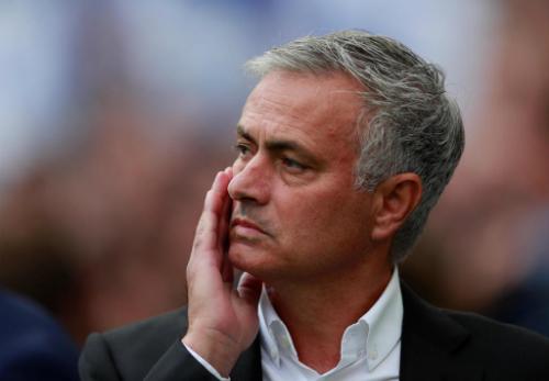 Những kết quả tồi liên tiếp khiến Mourinho đứng trước nguy cơ bị sa thải. Ảnh:Reuters.