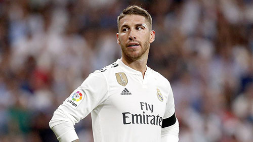 Ramos được HLV Lopetegui cho nghỉ ngơi khi làm khách của CSKA. Ảnh: AS.