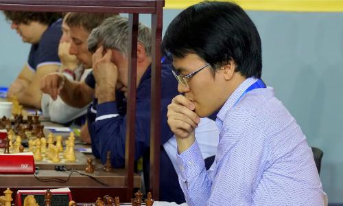 Quang Liêm giúp Việt Nam đại thắng Thụy Sĩ. Ảnh: BCO.