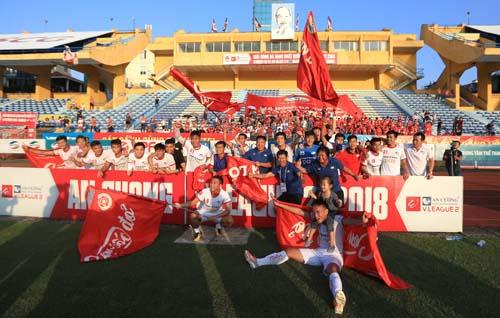 Viettel - đội bóng hậu duệ của Thể Công - đã sớm vô địch giải hạng Nhất Quốc gia, giành vé lên dự V-League 2019.
