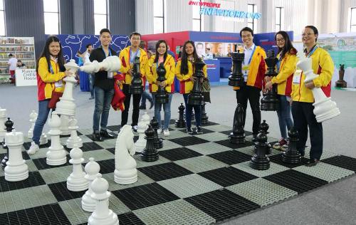 Việt Nam đứng thứ 10 chung cuộc kết quả tổng nam và nữ ở Olympiad cờ vua lần thứ 43.