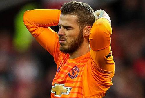 Man Utd muốn bán sớm De Gea để cắt lỗ, trong tình huống anh này không muốn ở lại CLB. Ảnh: PA.