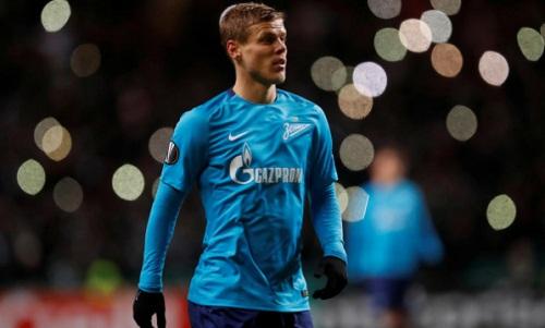 Alexander Kokorin đang khoác áo Zenit và tuyển Nga. Ảnh: Reuters.