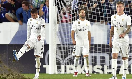 Real không biết ghi bàn khi thiếu Ronaldo. Ảnh: Reuters