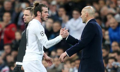 Bale không phải là cầu thủ mà Zidane ưng ý. Ảnh: Reuters