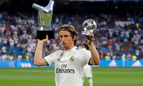 Modric đã giành những giải thưởng cá nhân và danh hiệu cao quý trong năm 2018. Ảnh: Marca.