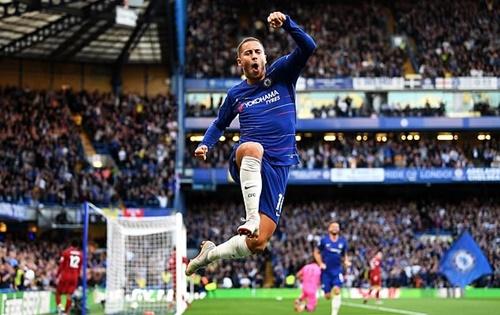 Hazard tiếp tục giữ vững vị thế ngôi sao số một của Chelsa. Ảnh: Chelsea FC.