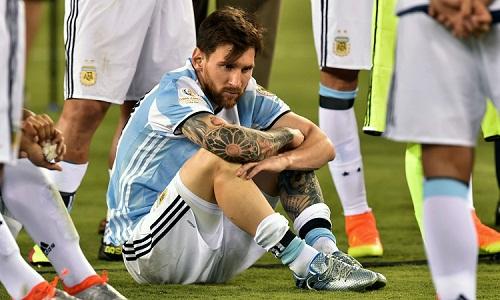 Messi vẫn chưa trở lại đội tuyển sau khi Argentina gây thất vọng ở World Cup. Ảnh: AFP.