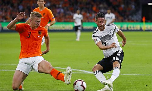Đức vẫn chưa thể ghi bàn ở Nations League 2018-2019.