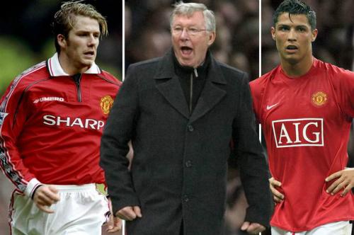 Dưới sự chỉ dẫn của HLV Ferguson, Beckham và Ronaldo đều trở thành những số 7 danh tiếng trong lịch sử Man Utd.