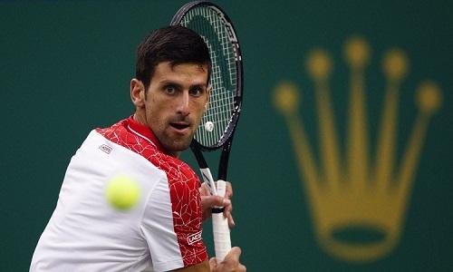 Djokovic thắng trận thứ 18 liên tiếp và bỏ túi danh hiệu thứ tư trong mùa này. Ảnh: AP.