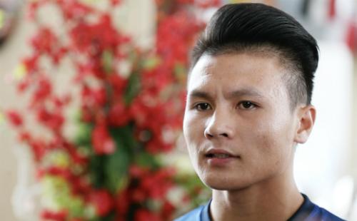 Quang Hải tự tin tuyển Việt Nam sẽ đứng đầu bảng A trên cả Malaysia, Myanmar, Lào và Campuchia ở AFF Cup sắp tới. Ảnh: Đức Đồng.