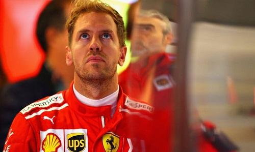 Án phạt với Vettel có thể chấm dứt hy vọng cạnh tranh chức vô địch của anh trong mùa giải này. Ảnh: Reuters.