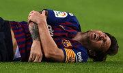 Messi bị gãy tay, phải nghỉ El Clasico