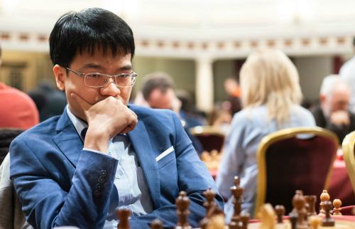 Quang Liêm đại diện cho Việt Nam dự giải cờ vua mở rộng mạnh nhất hành tinh. Ảnh: Maria Emelianova/Chess.com.