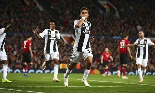 Dybala ghi bàn quyết định, giúp Juventus thắng trên sân Man Utd. Ảnh: Reuters.