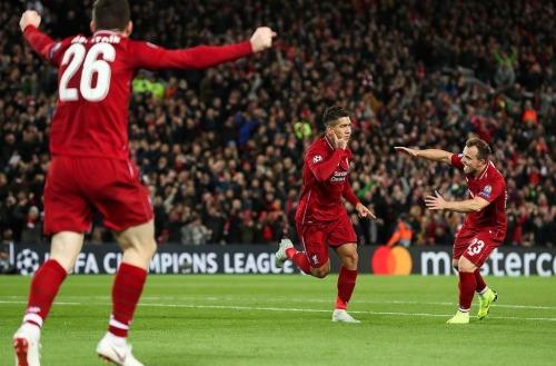 Cả ba cầu thủ tấn công của Liverpool đều ghi bàn trận này. Ảnh: DM.