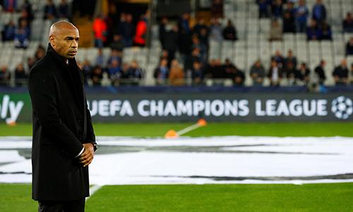 Henry vẫn chưa thể thắng trên cương vị HLV Monaco. Ảnh: Reuters.