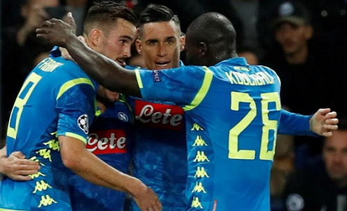 Siêu phẩm của Di Maria cứu PSG thoát thua Napoli