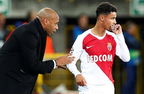 Monaco có điểm đầu tiên dưới trướng Thierry Henry