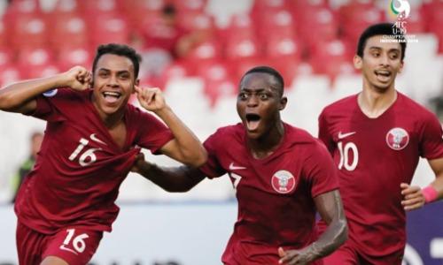 U19 Qatar giành vé đầu tiên của châu Á dự U20 World Cup 2019. Ảnh: AFC.