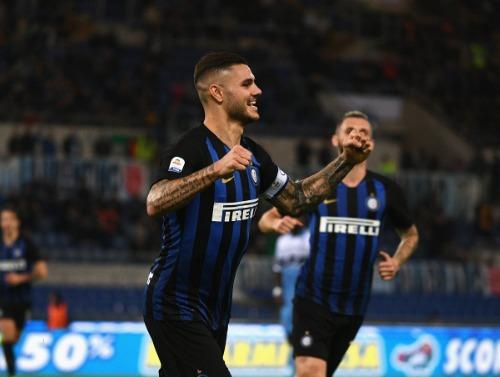 Icardi tỏa sáng khi trở lại Serie A. Ảnh: AFP.