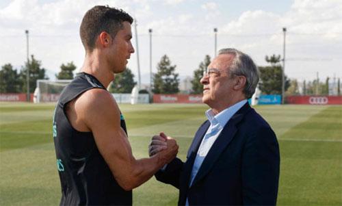 Perez có thể đã đánh giá sai về khả năng tiếp tục thi đấu và tầm quan trọng của Ronaldo. Ảnh: Marca