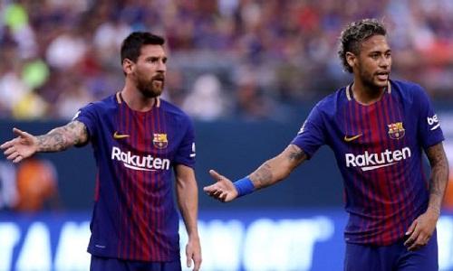 Neymar và Messi từng sát cánh cùng nhau tại Barca. Ảnh: Elsa.