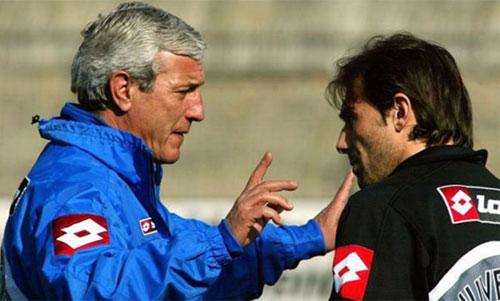 Conte từng chịu ảnh hưởng của nhiều HLV lớn trong sự nghiệp cầu thủ. Ảnh: Reuters