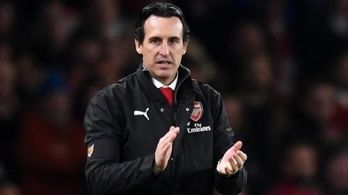 Emery đang cho thấy dấu hiệu phục hồi Arsenal. Ảnh: Reuters.